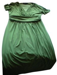 Jones New York short dress Green on Tradesy