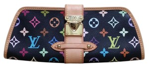 Louis Vuitton Wristlet in Black Multicolore LV Monogram Speeding