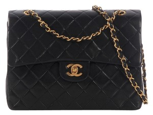 Chanel Lambskin Flap Medium Shoulder Bag