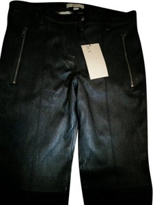 Burberry Brit Leather Skinny Jeans