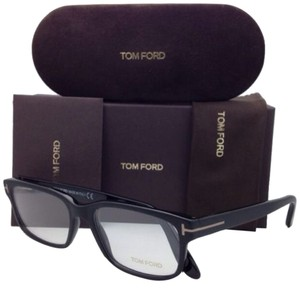 Tom Ford New TOM FORD Eyeglasses TF 5313 002 55-17 Matte to Shiny Black Fade Frame w/ Clear Lenses