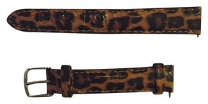 Michele Michele 16mm Leopard Watch Strap