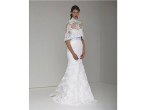 Monique Lhuillier Arielle And Capelet Wedding Dress