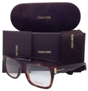 Tom Ford New TOM FORD Eyeglasses TF 5274 052 54-18 Havana Tortoise Frame w/ Clear Lenses
