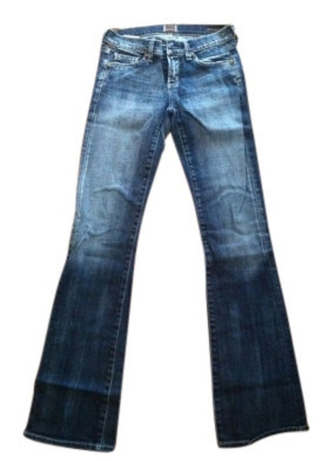 Preload https://item1.tradesy.com/images/citizens-of-humanity-blue-dark-rinse-kelly-low-rise-boot-cut-jeans-size-26-2-xs-10690-0-0.jpg?width=400&height=650