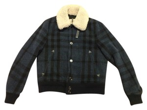 Burberry Jackets Brit Fur Men Fur Coat