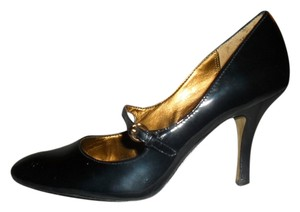 Anne Klein Patent Navy Mary Jane Navy Blue Pumps