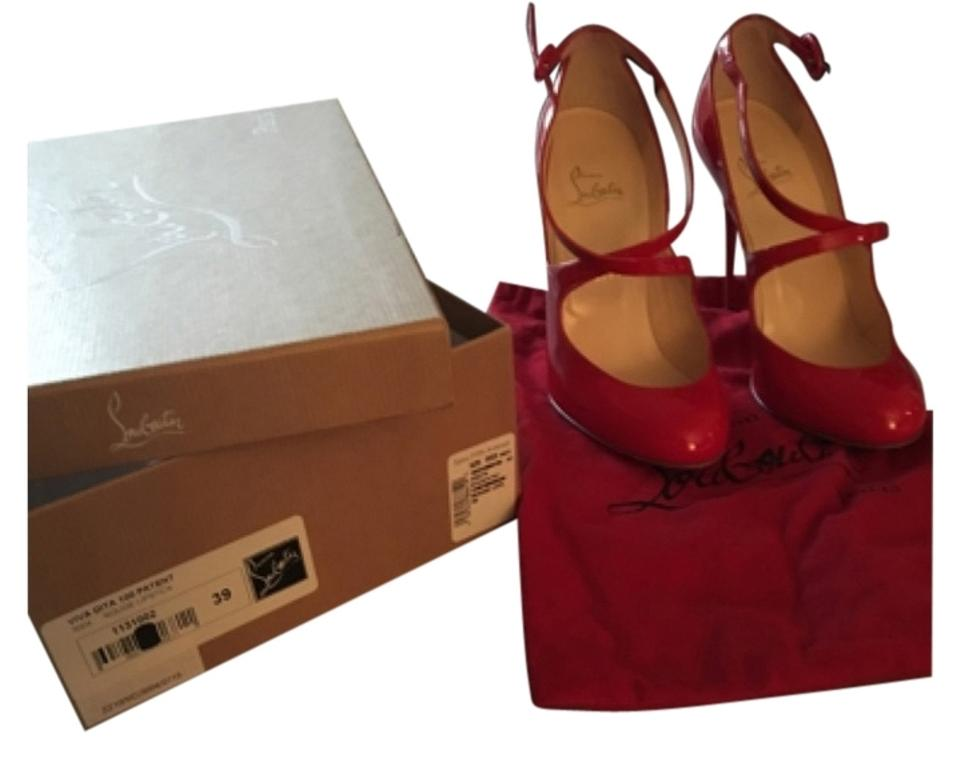 a439aab5df2 Christian Louboutin Rouge Lipstick Red Formal Shoes Size US 8.5 Regular (M,  B) 60% off retail