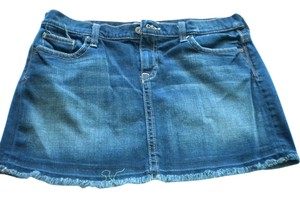 Old Navy Mini Skirt Dark Denim