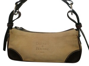 Dooney & Bourke Small Shoulder Leather Hobo Bag