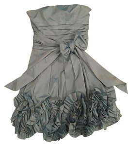 BCBGMAXAZRIA Bluesheen Stunning Classic Above The Kneee Strapless Dress