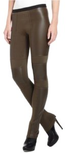 BCBGMAXAZRIA Straight Pants Olive Green