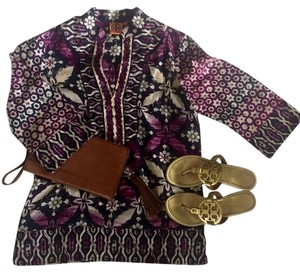 Tory Burch 100 Percent Pure Silk Tunic