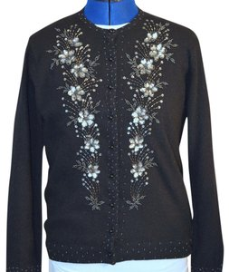 Vintage Beaded Sweater Cardigan