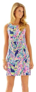 Lilly Pulitzer short dress Indigo Palm on Tradesy