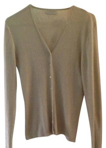Express Ribbed Beige Cardigan