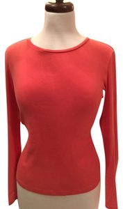 Talbots Top Orange tone