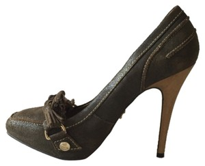 Esdra Dark green Pumps