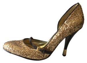 Babyphat Gold Pumps