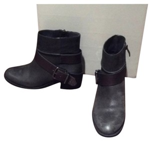 Vince Camuto Gray with silver buckle Boots