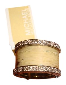 Michael Kors Barrel Horn Pav Ring