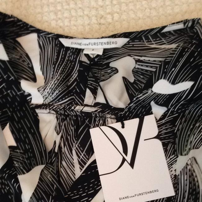 Diane von Furstenberg Top Black And White