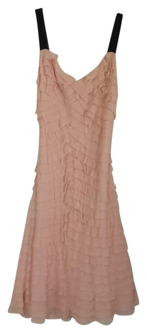 Preload https://img-static.tradesy.com/item/1069637/peach-rn-62136-ca-20625-knee-length-formal-dress-size-petite-2-xs-0-0-650-650.jpg