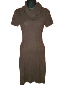 BCBGMAXAZRIA short dress Dark Java on Tradesy