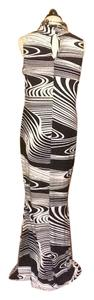 Black and white Maxi Dress by Other Full Length Maxi