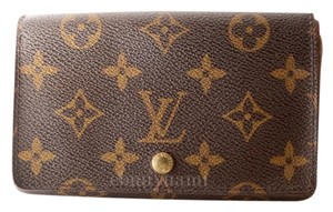 Louis Vuitton 100% Authentic Louis Vuitton Monogram Tresor Wallet