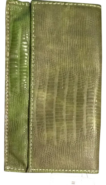 Item - Forest Green Vinyl Clutch