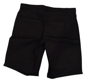 Anthropologie Elevenses Comfty Relaxing Bermuda Shorts Black