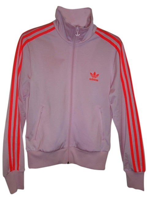 Item - Pink/Orange Firebird Track Top Activewear Size 8 (M)