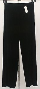 Ellen Tracy 14 X 32 Stretch Velvet Pull On Trousers B157 Pants