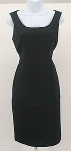 Ellen Tracy 8p Tepu7824 Sleeveless Fitted B159 Dress