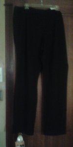 Coldwater Creek Straight Pants Tall Black