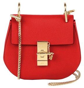 Chloé Drew Leather Lambskin Cross Body Bag