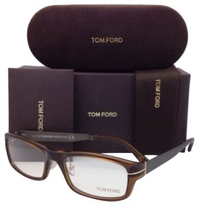 Tom Ford New TOM FORD Eyeglasses TF 5217 048 56-18 140 Brown Frame w/ Brown Temples