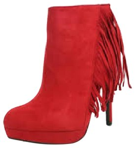 City Classified Red Boots