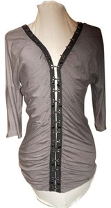 Soul Revival Top grey & black