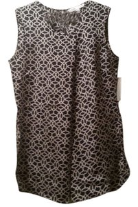 Larry Levine Tank Tunic New New With Tags Nwt Top Black