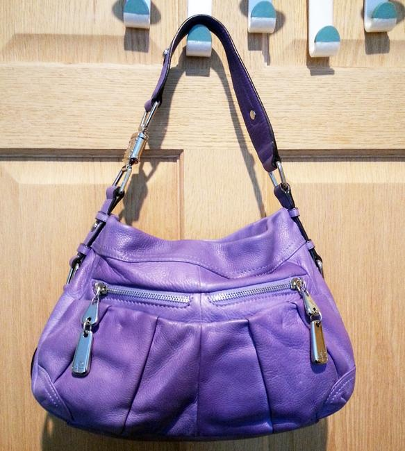 Item - Lilac/Purple Slouchy Lilac Leather Hobo Bag