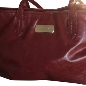 Cole Haan Satchel in Burgandy