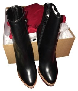 Christian Louboutin Brand New 38.5 Boot Bootie Blk Boots