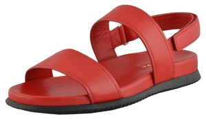 Prada Bright red Sandals