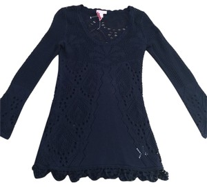 Lilly Pulitzer Lilly Crocheted Shirt Sailing Sweater