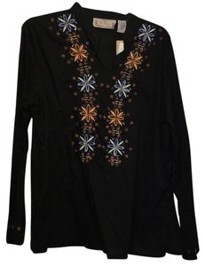 Life Style Beaded Vintage Look Tunic