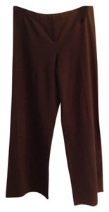 Express Smooth Zipper Trouser Pants Black