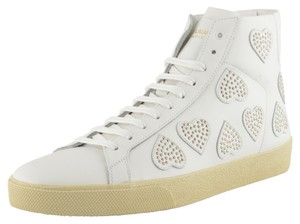 Saint Laurent White / Silver Athletic