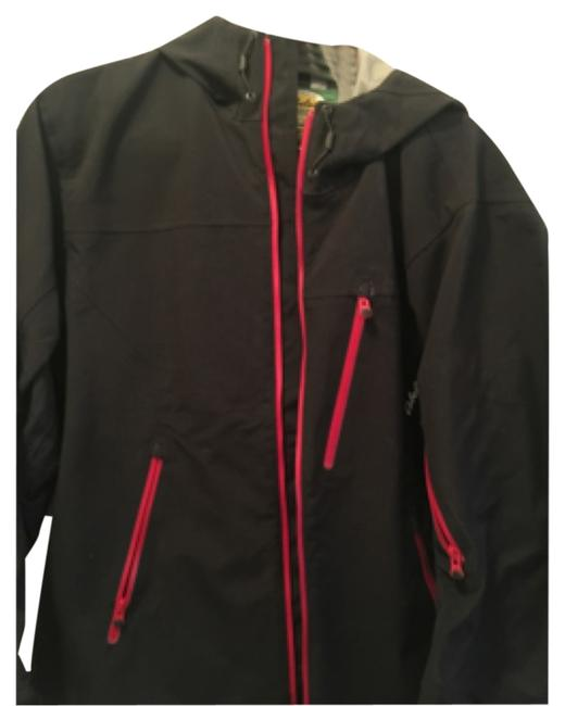 Item - Navy Blue with Red Zippers Coat Size OS (one size)